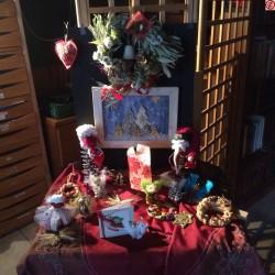 Créations de sapins de Noël