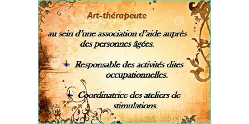 Mon activité d'Art-thérapie
